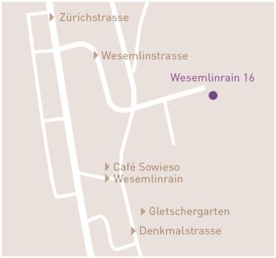 Karte Wesemlinrain 16